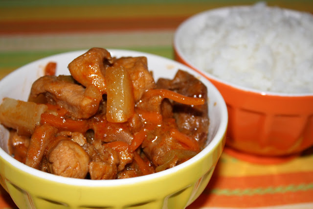 свинина острая по китайски фото рецепт