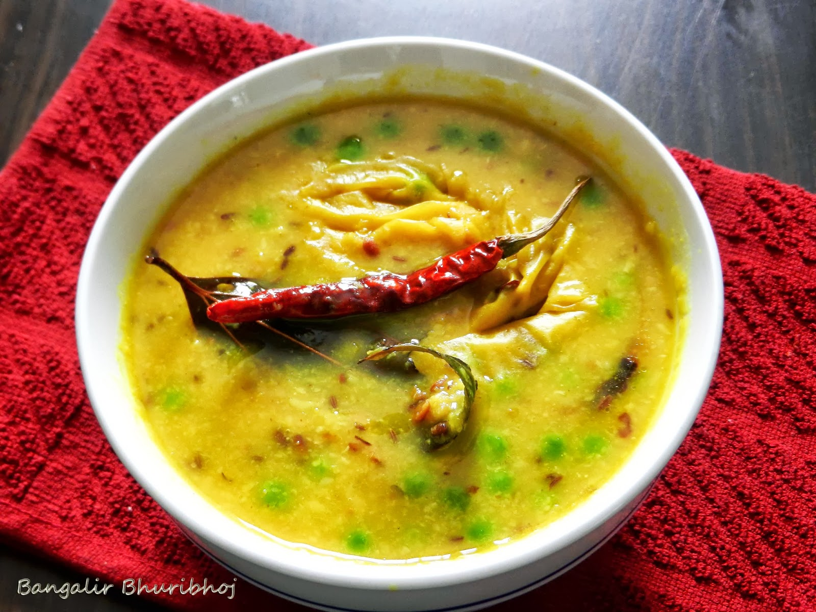 roast the mung dal till light brown and wash the roasted dal under