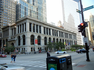 Public Library in downtown Chicago, Illinois