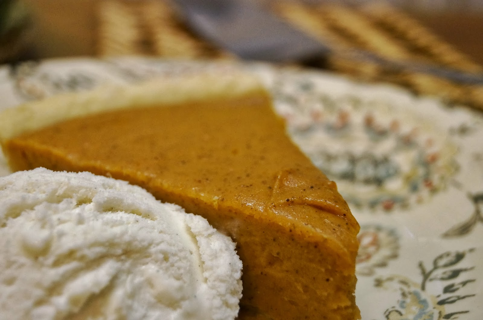 Homemade sweet potato pie is comfort food. Each bite warms my heart ...