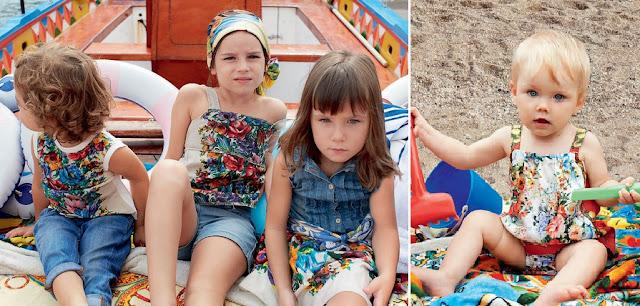 ROPA INFANTIL D&G CHILD VERANO 2013