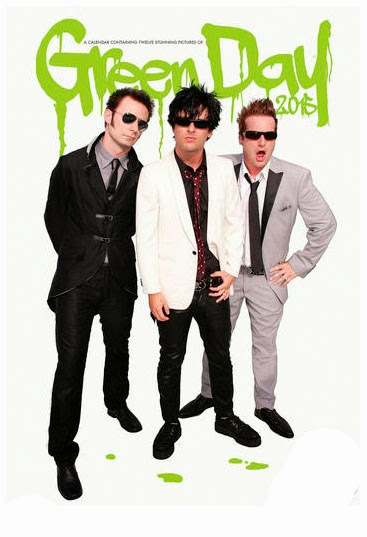 Calendario 2015 Green Day