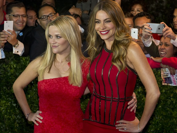 Sofia Vergara and Reese Witherspoon in Premiere in Mexico