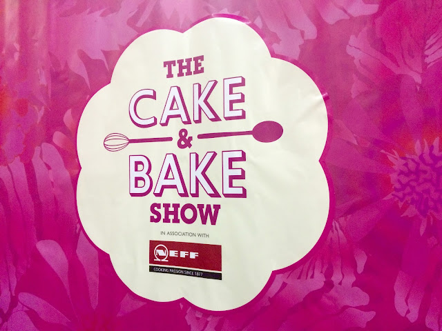 The Cake & Bake Show Sign