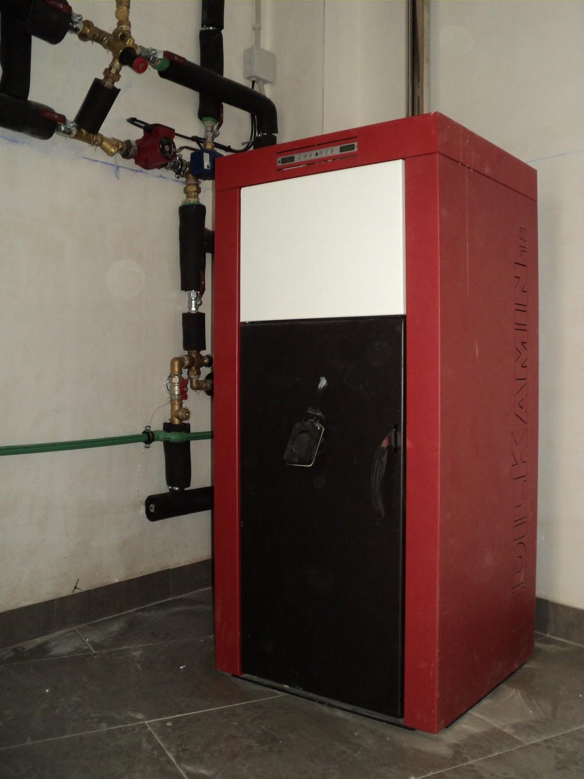 Entramados soluciones bioclim ticas instalaci n de - Caldera mixta lena pellet ...