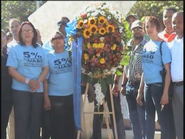 Conmemoran el 473 aniversario CURO-UASD