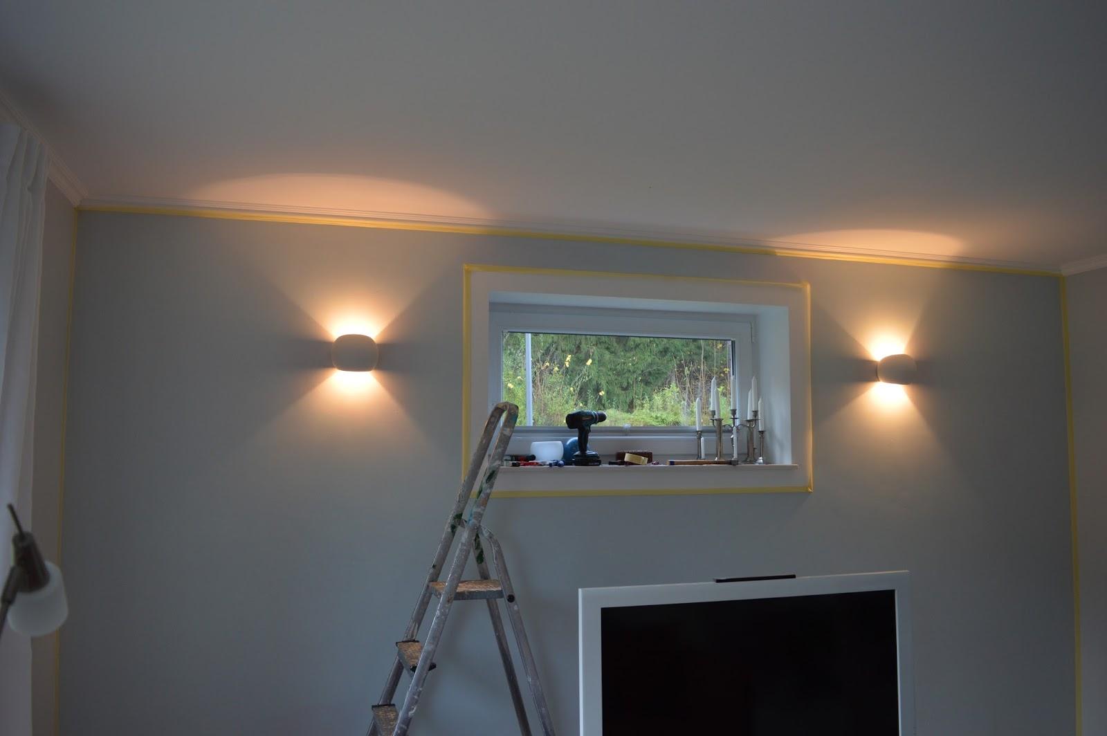 Heim elich: wohnzimmer wandlampen update