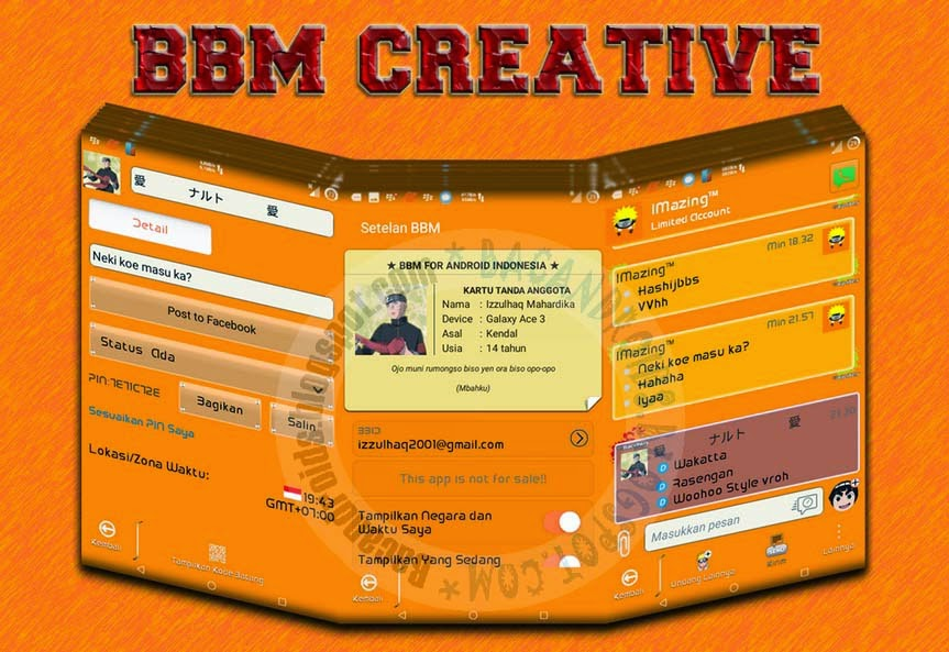 download BBM Mod Creative New 2.7.0.23