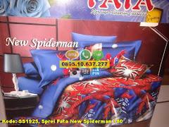 Harga Sprei Fata New Spiderman 180 Jual