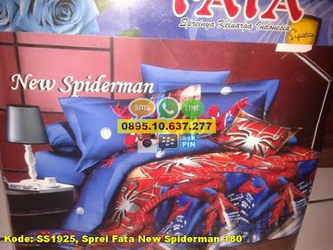 Sprei Fata New Spiderman 180