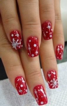Christmas Nail Art Ideas -33