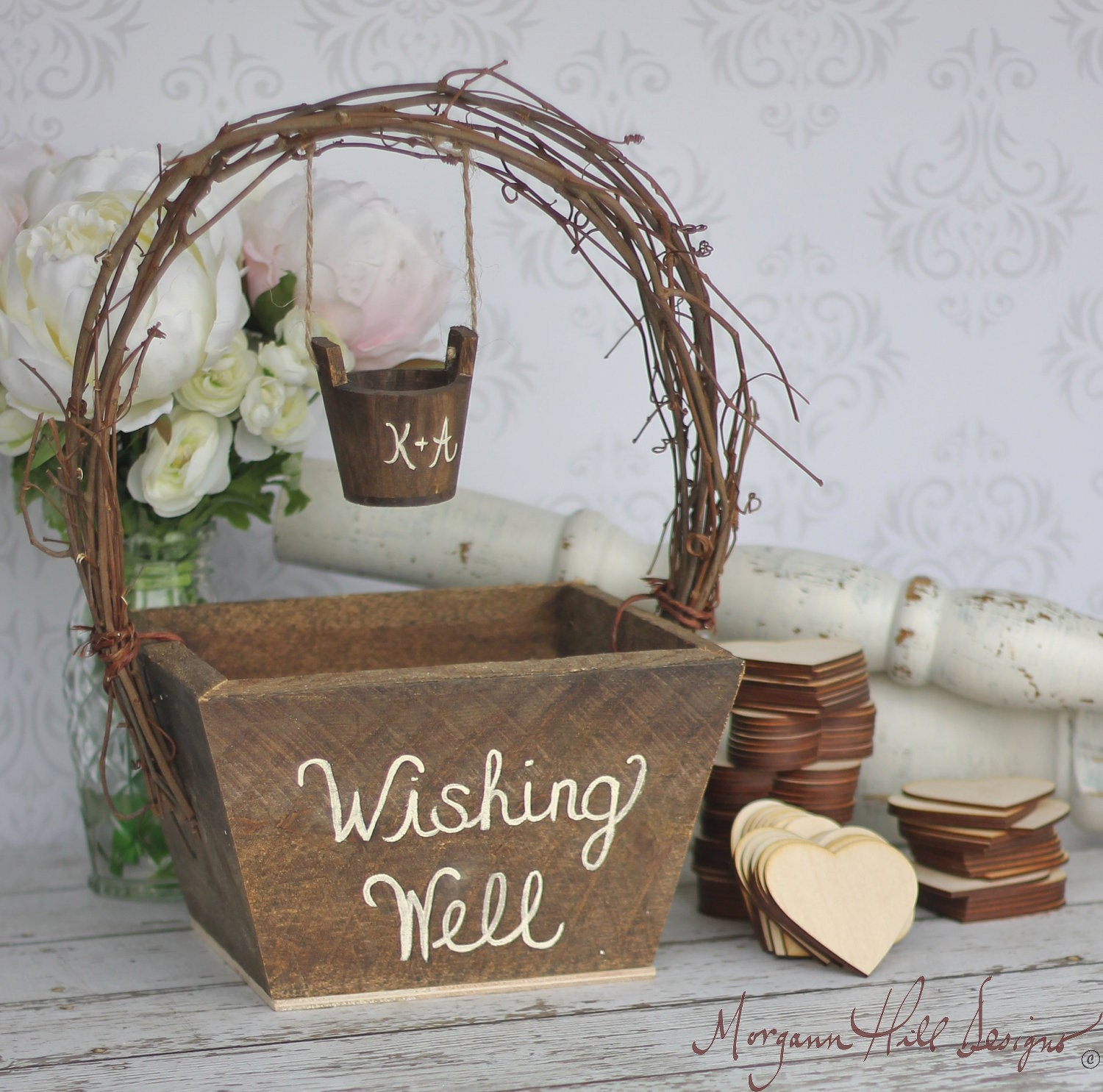 Rustic Wedding Gift Table Ideas : Morgann Hill Designs: Wedding Guest Book Alternative Rustic Wedding ...