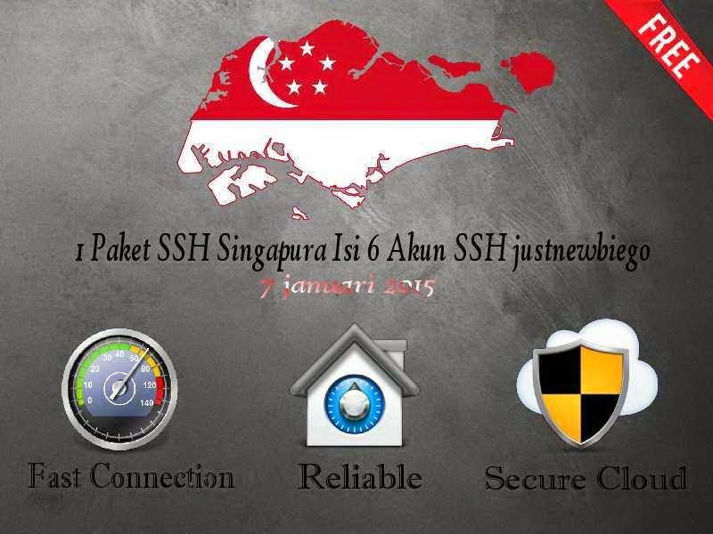 ssh singapura  premium gratis 7 januari 2015 terbaru