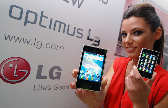 lg optimus l3 launch release hands on available