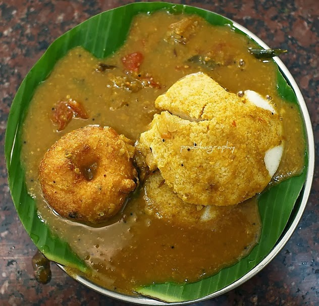 100 THINGS TO DO IN CHENNAI: #8 Idly Sambar And Vadai From