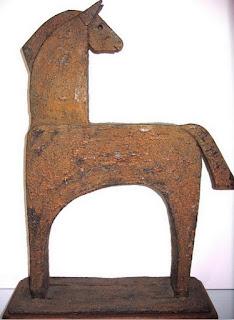 Esculturas de Personas y Animales en Metal