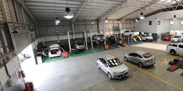 Nueva sucursal de Ford Argentina de A. Russoniello en Junín