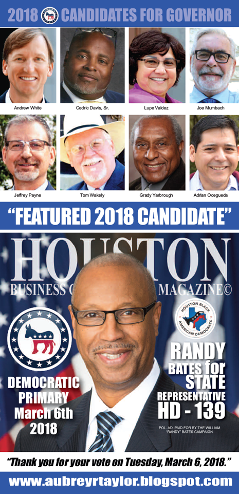 RANDY BATES FOR STATE REPRESENTATIVE HOUSE DISTRICT 139