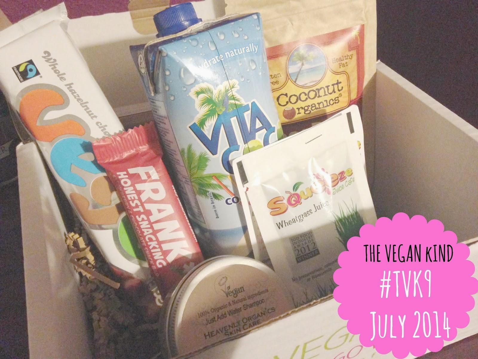 july vegan kind box