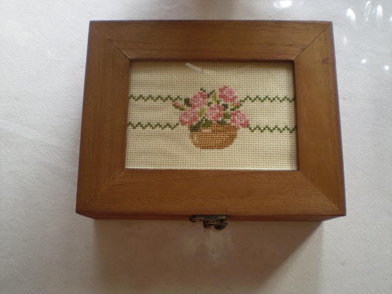 Cosas bonitas que se pueden hacer caja de madera y punto - Hacer caja de madera ...
