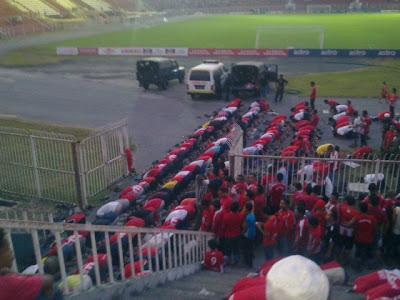 Bertempat di stadium mohamad ke4 Kota Bharu Kelantan