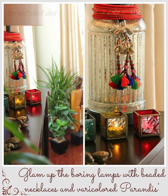 The East Coast Desi My Living Room A Reflection Of INDIA Diwali Inspiratio