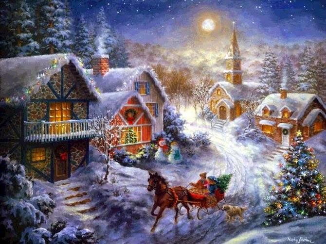 Рождество, празник