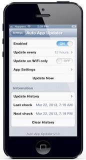 App update iPhone apps