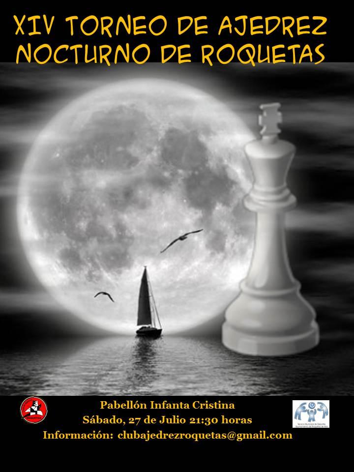 27 DE JULIO: NOCTURNO DE ROQUETAS