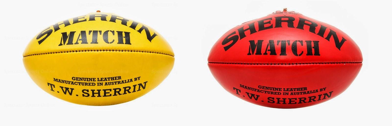 AFL match ball