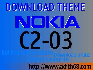 Free Download Tema Nokia C2-03 Terbaru