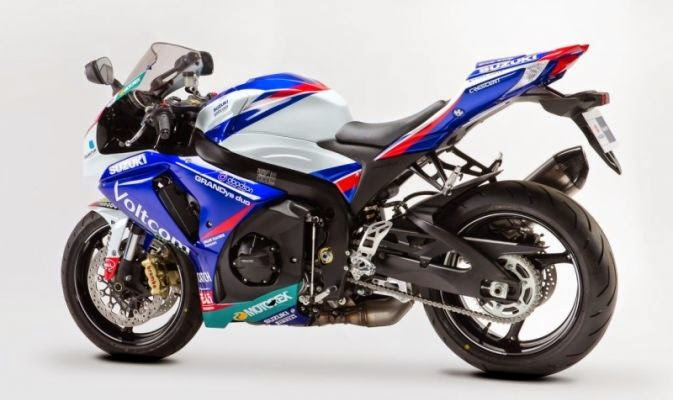 Suzuki GSX-R1000 Versi World SuperBike 2014