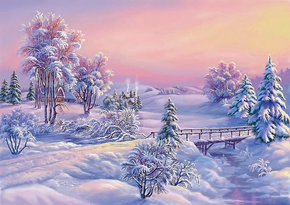 Fond d 39 cran chez maya paysage d 39 hiver images for Fond ecran gratuit hiver
