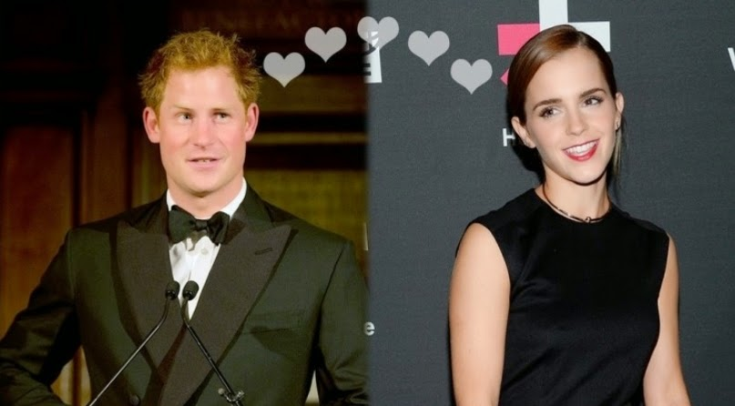 Hollywood Cute Couple, Emma Watson, Prince Harry