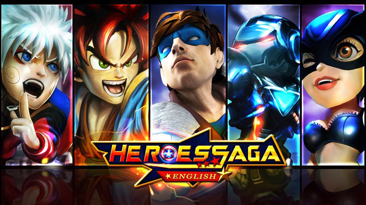 Heroes Saga English Gameplay IOS / Android