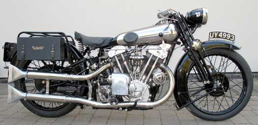 Motor Antik, Brough Superior 1929
