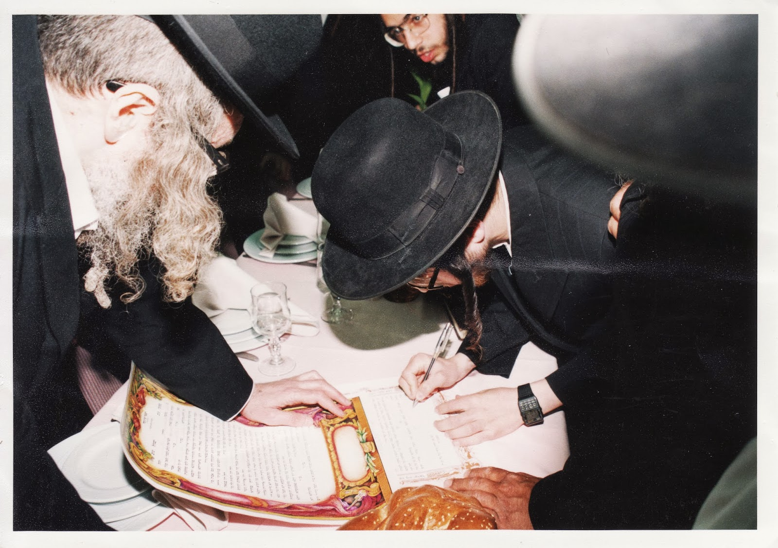 הרב ברלנד שמחת החתונה