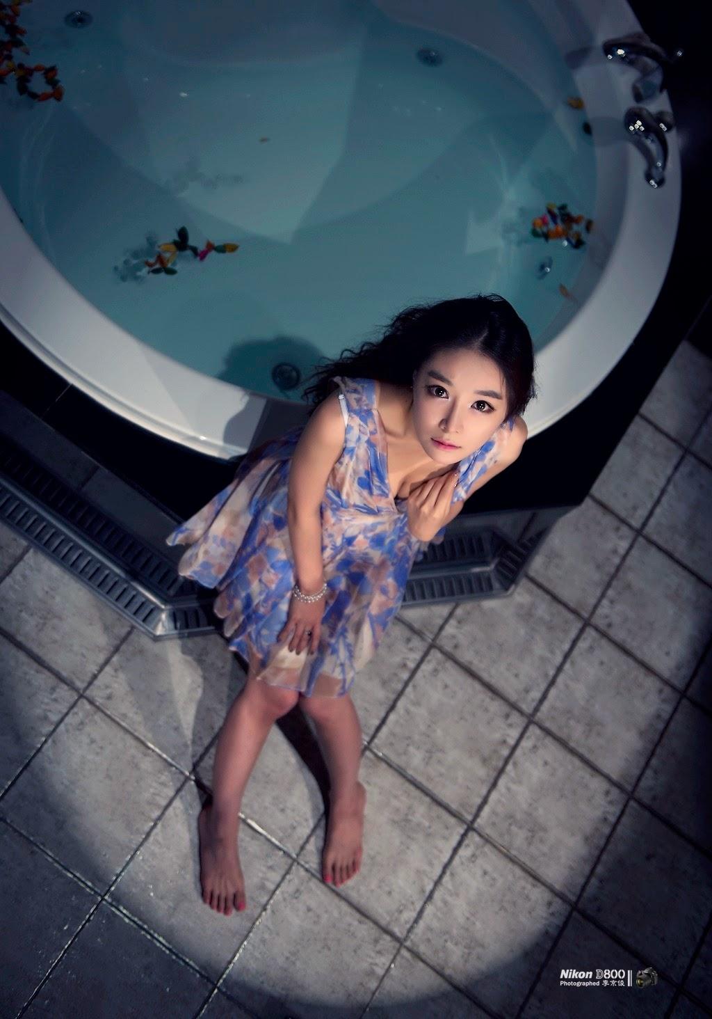 5 Lee Eun Seo - Spending Time in a Hotel - very cute asian girl-girlcute4u.blogspot.com