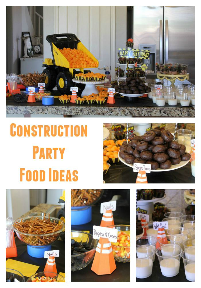 Construction Birthday Party Decoration And Activity Ideas