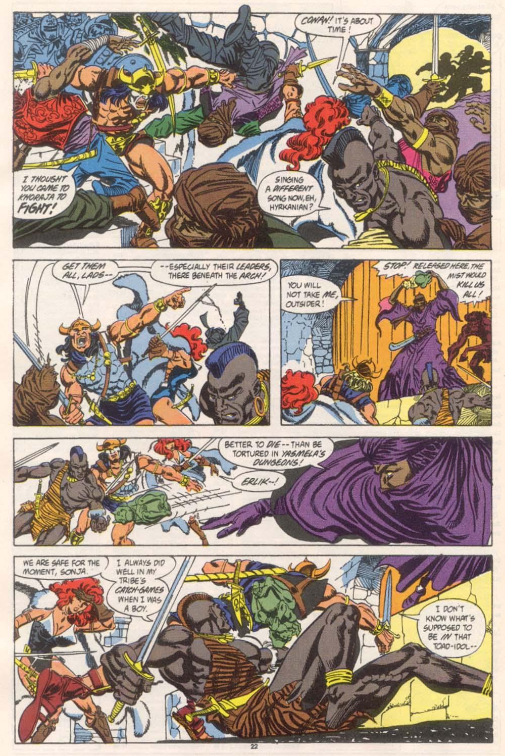 Conan the Barbarian (1970) Issue #246 #258 - English 18