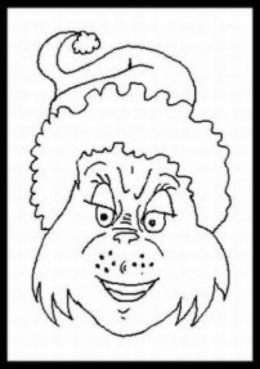 How The Grinch Stole Christmas Coloring Pages Free How The Grinch Stole Printable Coloring Pages