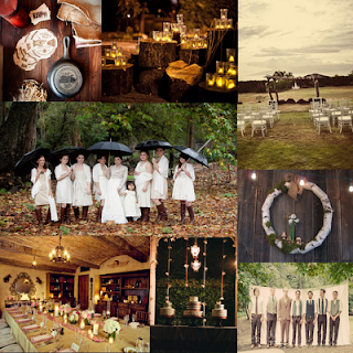 Extraordinary Rustic Country Wedding Decorations