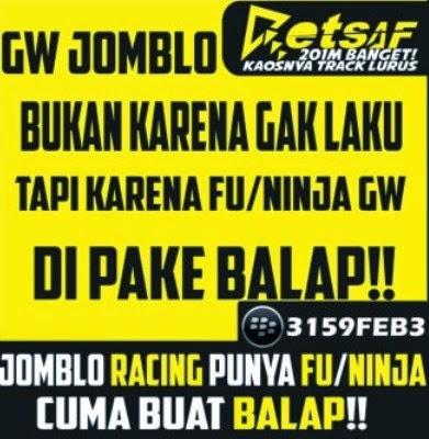 DP BBM Motor Anak Racing Ninja