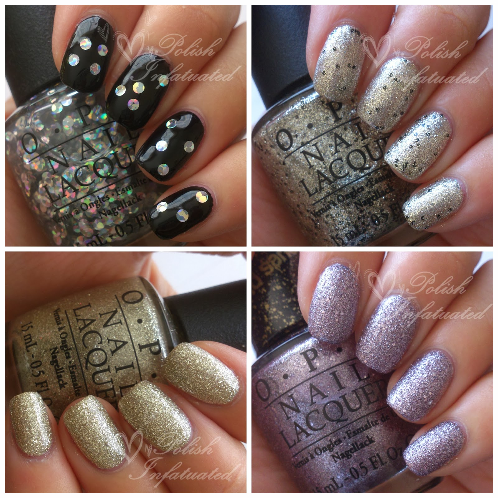 Swatches & review: OPI Mariah Carey Holiday 2013 collection ~ Polish ...