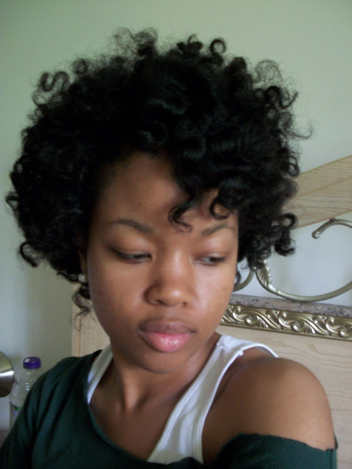 Medium African American Curly Hairstyles title=