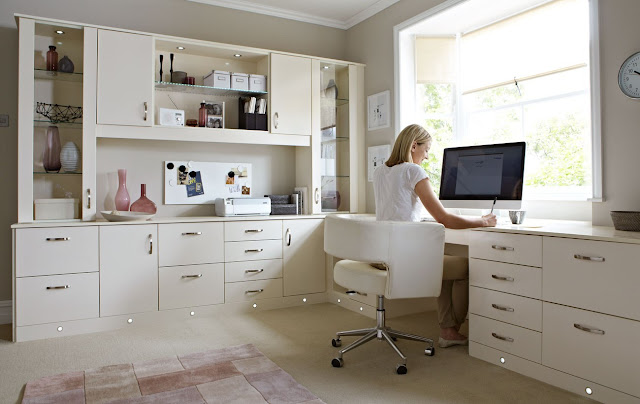 Home Office Furniture Decorating Ideas