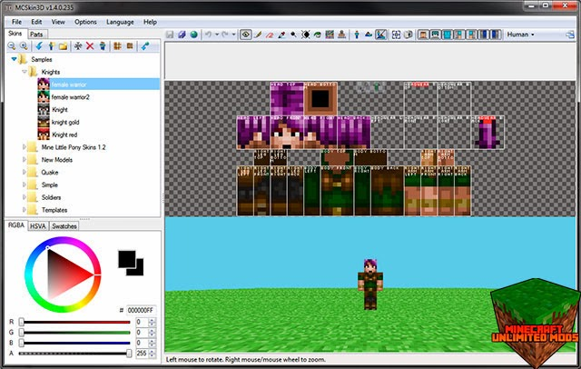 MCSkin3D Minecraft