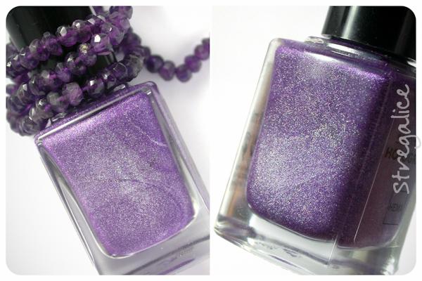 Hema Holographic Purple detail holo