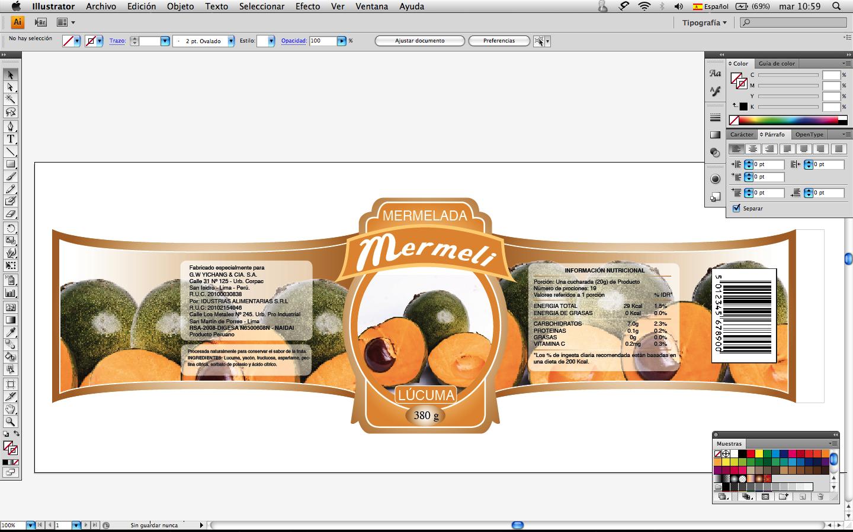 Esilva dise o linea de etiquetas de mermelada for Diseno de etiquetas