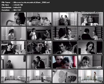 Alice ou La vie en noir et blanc (2005) download